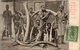 AFRIQUE --  CONGO Français - Caravane D'Ivoire à Vendre - Congo Français - Autres