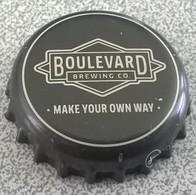 Etats Unis Capsule Bière Beer Crown Cap Boulevard Brewing Co. Make Your Own Way - Bier