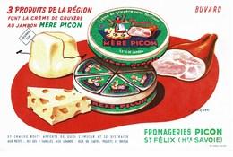 Fromageries Picon St Félix Savoie - Papel Secante