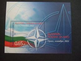 BULGARIA 2002. NATO   MNH** (V24-TVN) - Bulgarie