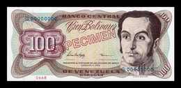 Venezuela 100 Bolívares 1998 Pick 66Fs Specimen SC UNC - Venezuela