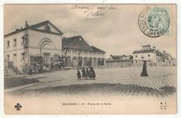 18 - BOURGES - Place De La Halle - MTIL 10 - Bourges