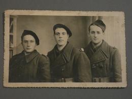 PHOTO. WW2 . SOLDAT 148éme RIF. LIGNE MAGINOT SECTEUR FORTIFIE DES ARDENNES . - Documenti