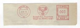 Deutschtes Reich AFS - BERLIN, Du Hast Dein Augenlicht Vergiß Den Den Blinden Nicht!, Blindenfürsorgeverein 1935 - Handicaps