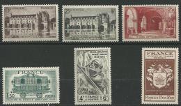 """FR YT 609 à 611 618 661 668 """" TP De L'année """" 1944 Neuf* - France"""