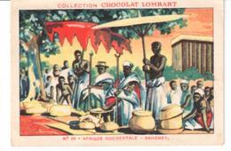 Chromo Chocolat Lombart   N°  64 Affrique Occidentale  Dahomey - Vieux Papiers