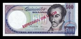 Venezuela 500 Bolívares 1998 Pick 67Fs Specimen SC UNC - Venezuela