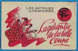 CARTON LES ARTICLES CHEMISIERS CF L'IDEALE LA GARANTIE DE LA BELLE COUPE - Pappschilder