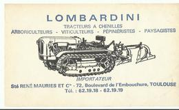 Buvard Lombardini Ste Rene Mauries Et Cie       Toulouse - Tracteurs