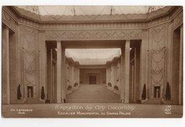 EXPOSITION DES ARTS DECORATIFS * GRAND PALAIS * ESCALIER MONUMENTAL * Architecte LETROSNE *carte 138 Sépia * AN Paris - Exposiciones