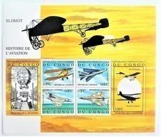 Congo 2001**Mi.1621-26. History Of Aviation, MNH [13;19] - Flugzeuge