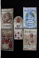 Lot De 80 Différentes  Étiquettes, Genièvre - Vin - Porto - Moselle - Luxembourg - Rhum -  Liqueur - - Collezioni & Lotti