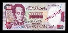 Venezuela 1000 Bolívares 1992 Pick 73As Specimen SC UNC - Venezuela