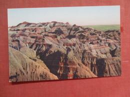 Lost Trail Barrier ------------ Hand Colored ------- Badlands National Monument   South Dakota     Ref 3775 - Etats-Unis