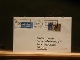 84/919 LETTRE POUR LA BELG. - 2001-10 Lettres