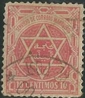 MAROC - Postes Locales - N° 106 Oblitéré Second Choix - Marokko (1891-1956)