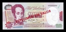 Venezuela 1000 Bolívares 1998 Pick 76Ds Specimen SC UNC - Venezuela