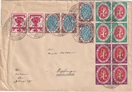 ALLEMAGNE 1922 LETTRE DE LANGENARGEN - Duitsland
