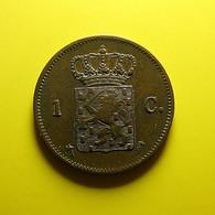 Netherlands 1 Cent 1876 - 1849-1890 : Willem III