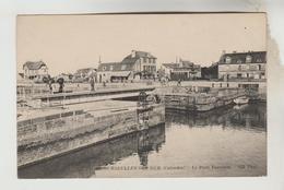 CPA COURSEULLES SUR MER (Calvados) - Le Pont Tournant - Courseulles-sur-Mer