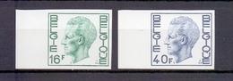 1875/76 Koning Boudewijn Elstrom  Ongetand 1977 Cat:60 Euro - Belgique