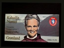 Livret De Faune De Papillons Du Groenland 1998 MNH - Groenlandia