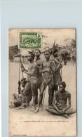 AFRIQUE --  CONGO Français - Guerriers Oudombo  , Haut Ogooé - Congo Français - Autres
