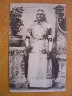 Cpa Martinique Type Et Costume De Femme Indienne - Non Classificati