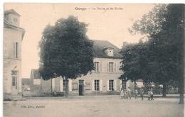 Cpa 89 Gurgy Les écoles La Mairie - Gurgy