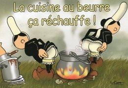 CPM - F - HUMOUR - BRETAGNE - MAM GOZ ATTITUDE - LA CUISINE AU BEURRE CA RECHAUFFE ! - ILLUSTRATEUR LE CORRE - Bretagne