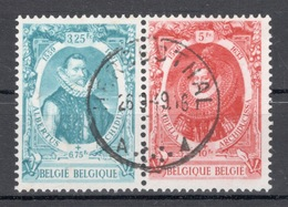 BELGIE: COB 581A/582A Mooi Gestempeld. - Belgien