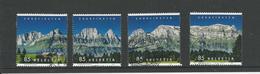 2017 ZNr 1631-1634 (1903) SÉRIE COMPLÈTE !!!! - Schweiz