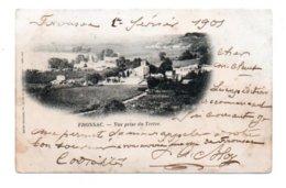 (33) 542, Fronsac, Henry Guillier, Vue Prise Du Tertre, Dos Non Divisé - Other Municipalities