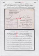 Belgique Stalag XIII A-Carte Postale Reponse Du Frère Prisonnier. Franc De Port. Chez L'Expéditeur......  (VG) DC5275 - WW II