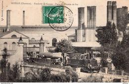 RUELLE FONDERIE DE CANONS PORTE DU CHEMIN DE FER 1910 TBE - Frankreich