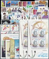 [20] 1995 Espagne Année Complete Neuf Sans Charniere LUXE   + 6 BF Timbres D'un Très Bon état. LUXE. - Espagne