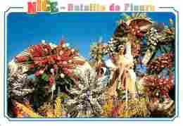 06 - Nice - Carnaval De Nice - Bataille De Fleurs - Voir Scans Recto-Verso - Carnevale