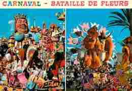 06 - Nice - Carnaval De Nice - Bataille De Fleurs - Multivues - Voir Scans Recto-Verso - Carnaval