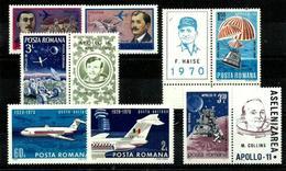 Rumanía Series Aéreas En Nuevo. Cat.10,90€ - Nuevos