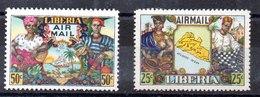 Liberia Series Completas N ºYvert 59/60 ** BARCOS (SHIPS) - Liberia