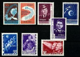 Rumanía Series Aéreas En Nuevo. Cat.13,50€ - Airmail