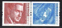 SUEDE 2449/50 ONU - Dag Hammarskjöld