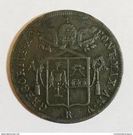 STATO PONTIFICIO Gregorio XVI 1831-1846 1 Baiocco 1835 A. V Roma  D 673 - Monete Regionali