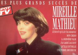33 T Vinyle Les Plus Grands Succès De Mireille Mathieu (Carrere 1988) - Vinylplaten