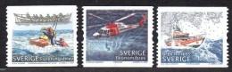 SUEDE 2562/64 Rescue , Hélicoptère , Bateau , Jetski - Secourisme