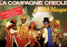 33 T Vinyle Le Bal Masqué Par La Compagnie Créole (Carrère, 1984) - Disco, Pop