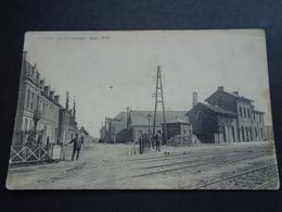 Belgique  België  ( 1933 )  Vichte ( Anzegem )    Statiestraat   Statie  Gare  Station - Anzegem