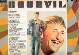 33 T Vinyle Bourvil Chante (Du Music-hall Aux Vedettes, Pathé Marconi - Humor, Cabaret