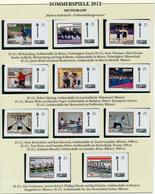 BRD -  LONDON 2012 - Olympiade - 11 Marken Individuell ** Mit Goldmedaillen-Gewinnern Aus Deutschland - Eté 2012: Londres