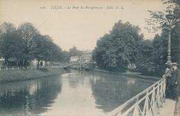 PL 106 Lille Le Pont Du Ramponneau Etat Neuf Plan Remarquable - Lille